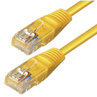 6s4gl cat 6 pimf kabel 2m gelb patchkabel lan dsl netzwerkkabel network cable ebay. Black Bedroom Furniture Sets. Home Design Ideas