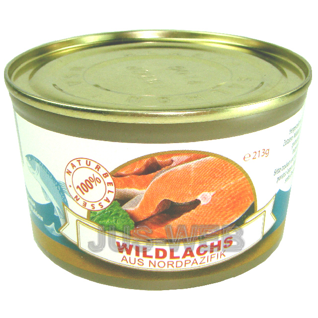 213g-100g-1-24-WILDLACHS-Abtropfgewicht-160g-LACHS-KONSERVEN-FISCHKONSERVEN